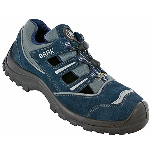 Baak 7013-46 Pit Sandale S1P Taille 46 Bleu/Gris