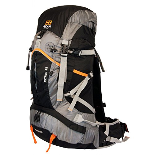 Bear Grylls 45L Backpack (Hydration Pack Compatible) by Bear Grylls