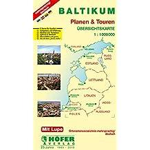 Baltikum - Estland / Lettland / Litauen 1 : 1 000 000. Planen & Touren