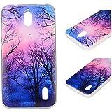 Para Huawei Ascend Y625 (5 pulgadas) Cáscara ZeWoo® Carcasa y Funda de Silicona - YG008 / bosques