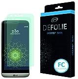 Crocfol Bildschirmschutz für LG G5 / G5 SE: 2x DIEFOLIE Schutzfolie, 1x DASFLÜSSIGGLAS flüssiges Glas - Fullcover Folie zur Nutzung ohne Schutzhülle