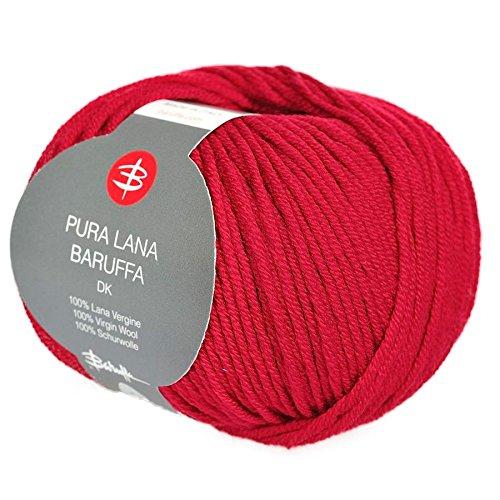 3b91f5dc DK Merino Yarn - Italian Merino Wool by Zegna Baruffa Lane Borgosesia 100g  (2 x 50g) (Garibaldi Red)