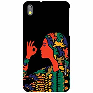 HTC Desire 816G Back Cover - Illustration Designer Cases