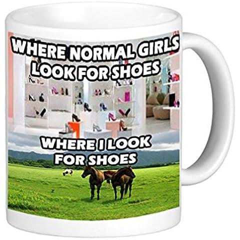 Se I Look per scarpe Equestrain cavallo tazza [Lingua inglese] - Dressage Horse Tack