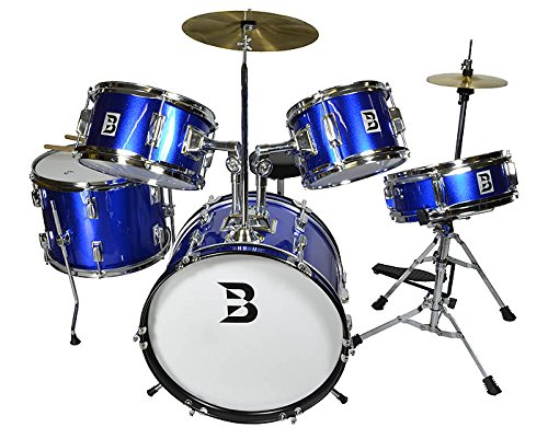 bryce-junior-drum-set-5-piece-complete-set-ideal-for-ages-5-to-10