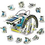 TOOGOO 13 in 1 kit diy educativo giocattoli solari giocattoli solari luce solare energia solare batteria bambini regali per bambini auto gadget