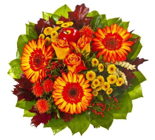 """floristikvergleich.de Dominik Blumen und Pflanzen, Blumenstrauß """"Herbstwärme"""""""