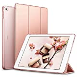 Funda iPad Air 2, ESR Serie Yippee Carcasa Smart Cover de Triple Plegado para iPad Air 2 (Oro Rosa)