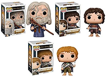 Funko POP! The Lord Of The Rings: Gandalf + Fro...