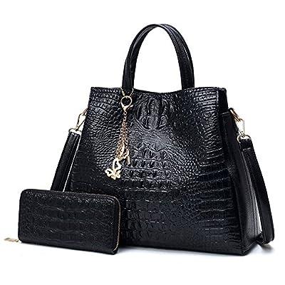 Cuir PU Femmes Sacs d'épaule grand sac fourre-tout des chaînes Mesdames Femmes Sacs à main porte-monnaie et monnaie