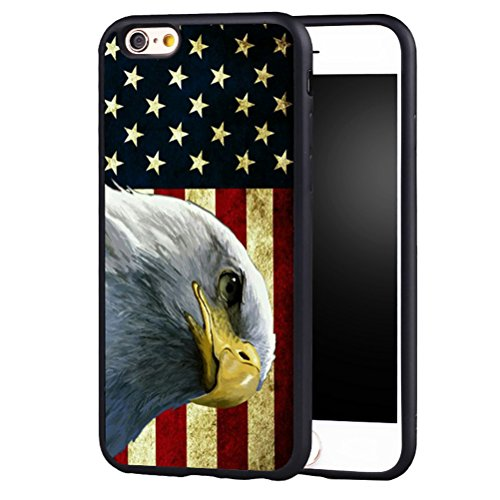 iPhone 7Fall, iPhone 8Fall, American Eagle Flagge Tactical USA Pride Vintage Design Weiches Silikon Handy Schutzhülle, for iPhone 7/8, American Flag Eagle American Flag-handy-fall