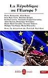 La République ou l'Europe ? par Savidan