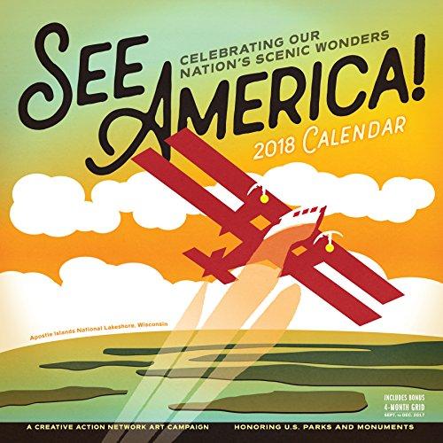 See America! Wall Calendar 2018 par Workman Publishing