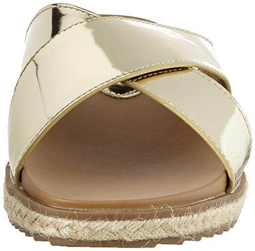 XTI - Gold Mirror Pu Ladies Sandals ., Sandali Donna Oro (gold)