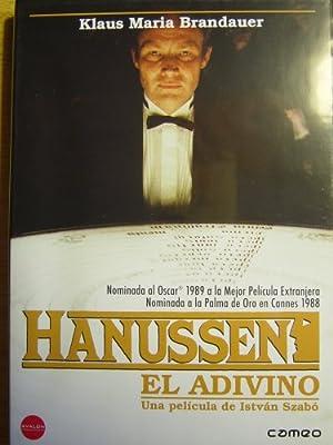 Hanussen, El Adivino (Import Dvd) (2004) Klaus Maria Brandauer; Walter Schmidi