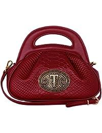 Damen Leder Handtasche Schultertasche Grün Modell 11498-03 Silvio Tossi