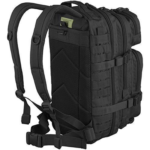 Rucksack US Assault Pack Laser Cut Laser Cut black