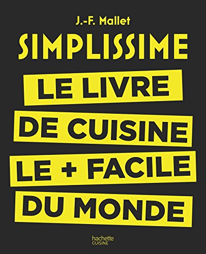Livre de cuisine Simplissime