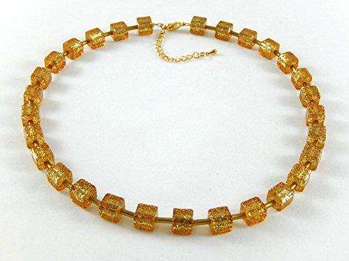 Goldene Polaris-Flitterkette