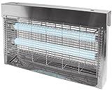 Jvd - desinsectiseur Électrique 30 Watts Inox, destructeur D'Insectes Pro - Ref : 855625