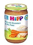 HiPP Reis mit Karotten und Bio-Pute Bio, 6er Pack (6 x 220 g) (Bild: Amazon.de)