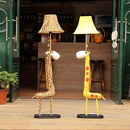 Cartoon Giraffe Kid's Room Floor Lamps