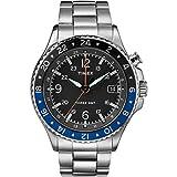 Timex Reloj Analógico para Hombre de Cuarzo con Correa en Acero Inoxidable TW2R43500