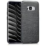 kwmobile Samsung Galaxy S8 Hülle - Handyhülle für Samsung Galaxy S8 - Handy Case in Anthrazit Transparent
