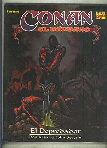 Novela Grafica Conan color numero 04: El depredador