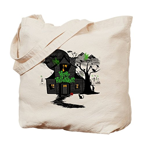 CafePress-Halloween 2-Leinwand Natur Tasche, Reinigungstuch Einkaufstasche Tote S khaki