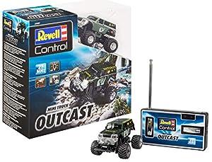 Revell- Mini RC Truck Outcast Juguetes a Control Remoto, (23507)