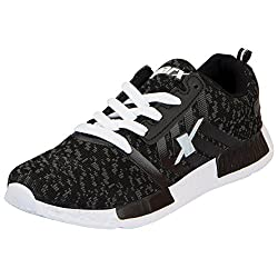 Sparx SL 83-37 Black White Running Shoes