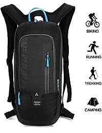 6be2e3e3cde5c Kleiner Fahrradrucksack Trinkrucksack Wasserdicht Rucksäcke Reisetasche für  Wandern