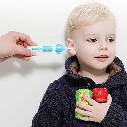 j/óvenes y adolescentes adultos Limpiador de O/ídos,Removedor de Cera de O/ído para beb/és Limpiador de o/ídos inteligente