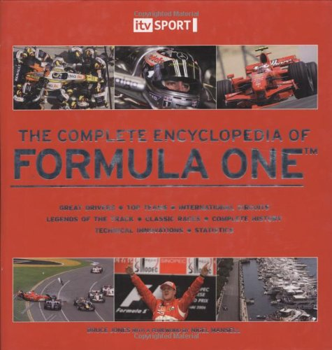 ITV Sport Complete Encyclopedia of Formula One por Bruce Jones