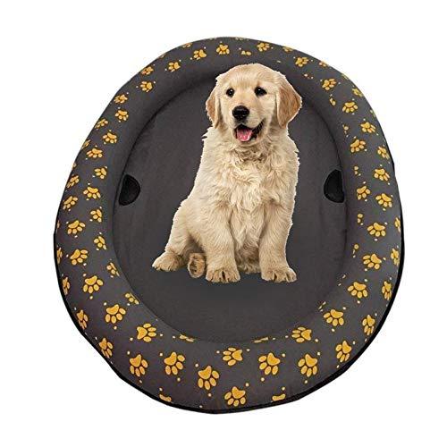 MOGOI Schwimmbrett für Hunde, Aufblasbar Hunde Boot Haustier Luftmatratze Schwimmbad Strand Spielzeug für den Sommer, Haustier Wasser Spielzeug Pool Float 139,7 x 88,9 cm