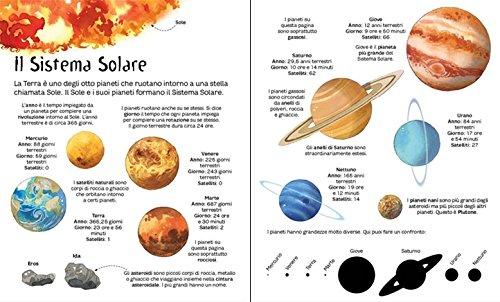 Libro il librone delle stelle e dei pianeti di emily bone for Immagini sole da colorare