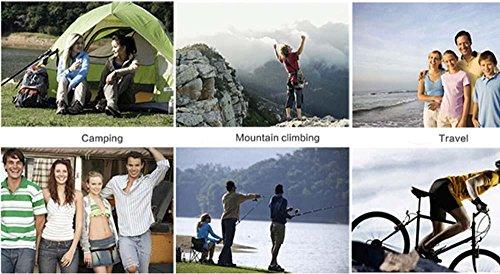 Grande capacità outdoor zaini trekking viaggio zaino spalla borsa 65 + 5L zaino , deep blue Blue