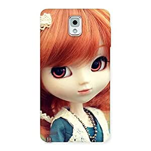 Enticing Tiny Baby Girl Multicolor Back Case Cover for Galaxy Note 3