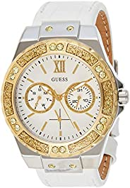 Guess Womens Quartz Wrist Watch, Analog and Leather- W0775L8