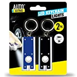 2pk LED Key Chain Lights | Handy Pocket Torch Light with Built in Batteries and can Swivel 360 Degrees | Compact Keychain Lights for Emergencies or Everyday Use