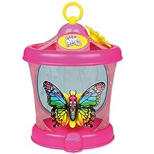 Little Live Pets - Farfalla in gabbia con ali glamour, 1 per confezione, gioco elettronico