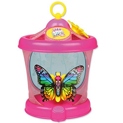 Little Live Pets - Farfalla in gabbia con ali glamour, 1 per confezione, gioco elettronico - Ali Di Una Farfalla