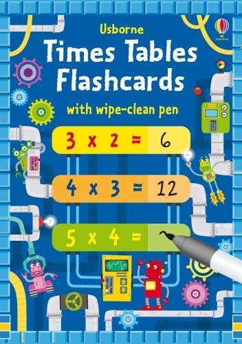 Times Tables Flash Cards (- Flash In Einem Math)
