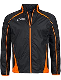 Asics - Veste WindBraker Colin M noir orange -