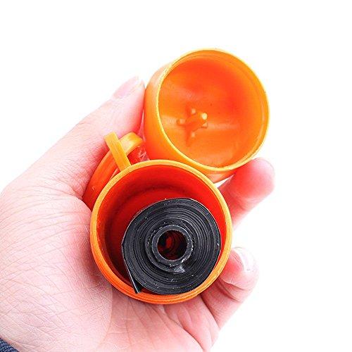VANKER 1pc hueso Box Forma titular dispensador + 1 perro de mascota rollo de basura del Limpio de residuos Bolsas -- color al azar