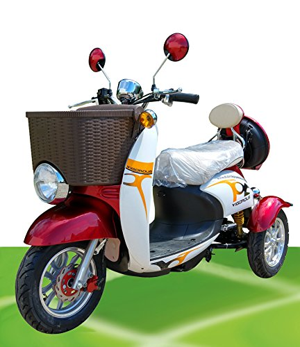 "500W ElektroScooter Senioren ElektroMobil Mobility Vehicle Elektro Dreirad ZweiSitzer ""Sam 1"" SeniorenMobil bis bis 25km/h"