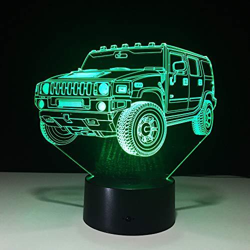 Lampe der Neuheit 3d führte Nachtlicht-Batterie-Mini-led-Lichter batteriebetriebenes geführtes Usb-Nachtlampen-Kinderzimmer