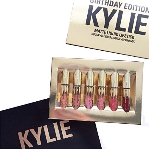 Kylie Makeup–Rossetto liquido mat in edizione limitata Birthday