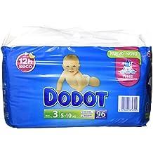 Dodot - Pack pañales bebés - Talla 3, 5-10 kg - 96 unidades